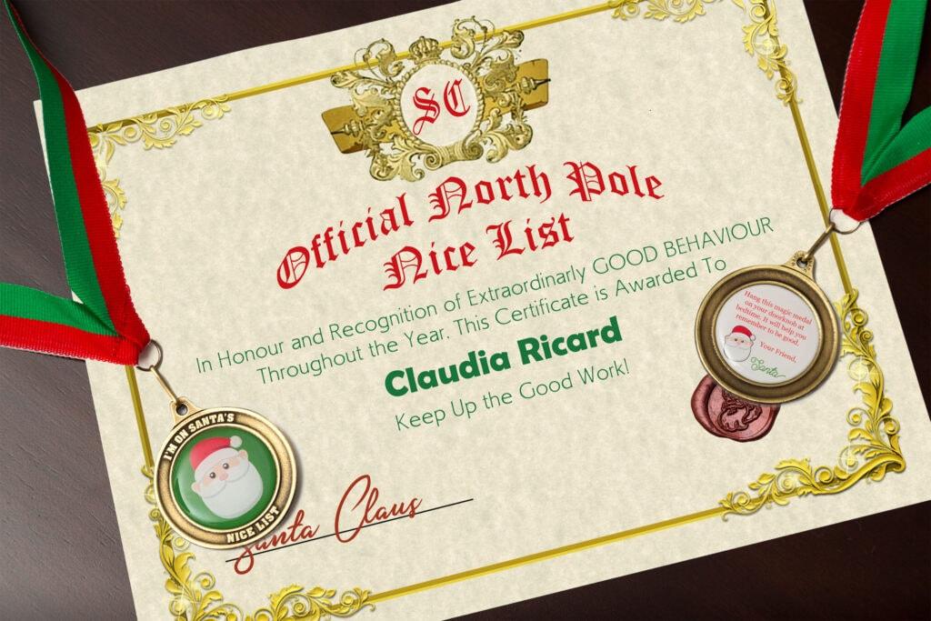 Santa S Nice List Santa Edmonton