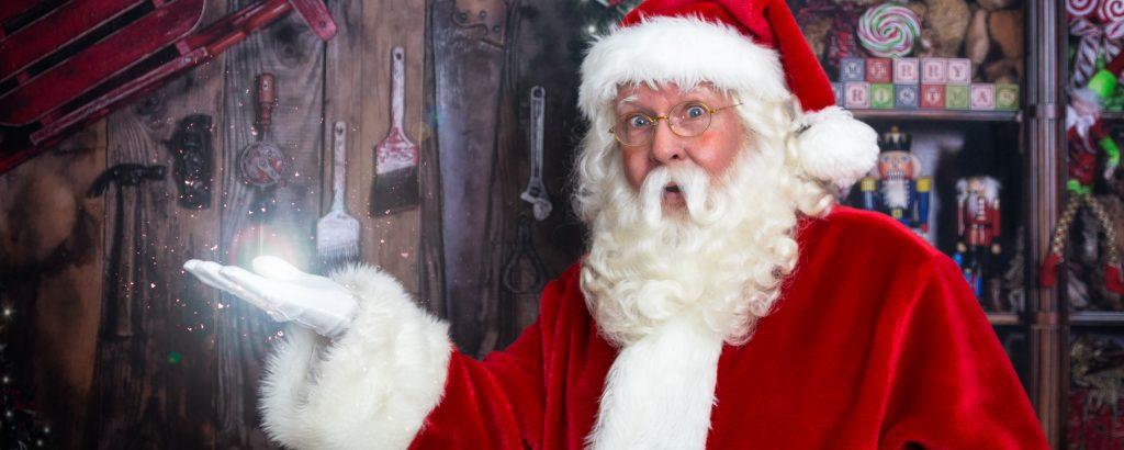 Santa in Edmonton